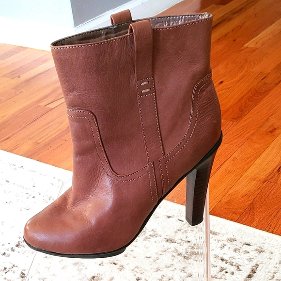 Ankle High Heel Boots, Size 6.5